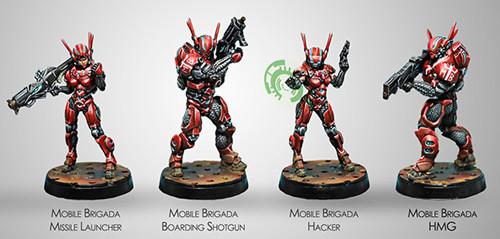 Infinity: Nomads - Mobile Brigadas (4)