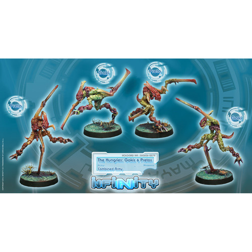 Infinity: Combined Army - The Hungries Unit Box (Gakis, Pretas) (4)
