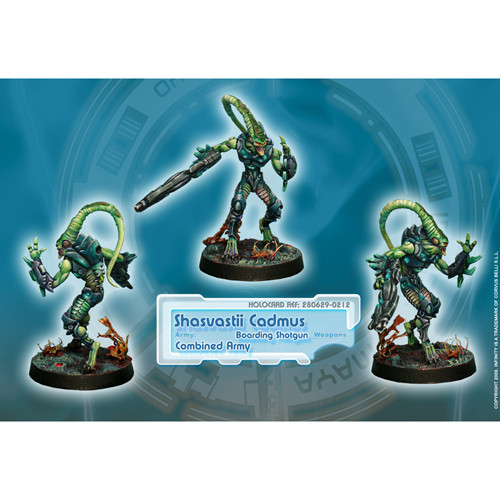 Infinity: Combined Army - Shasvastii Cadmus (Boarding Shotgun)