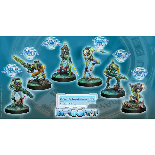 Infinity: Combined Army - Shasvasti Expeditionary Sectorial Starter