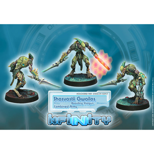 Infinity: Combined Army - Shasvastii Gwailos (Boarding Shotgun)