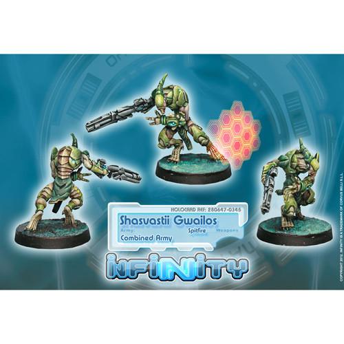Infinity: Combined Army - Shasvastii Gwailos (Spitfire)