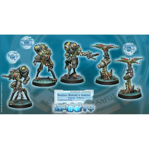 Infinity: Combined Army - Ikadron Batroids & Imetron