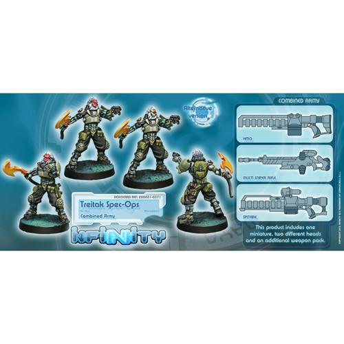 Infinity: Combined Army - Treitak Spec-Ops