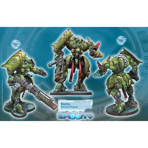 Infinity: Combined Army - Raicho Armoured Brigade Unit Box
