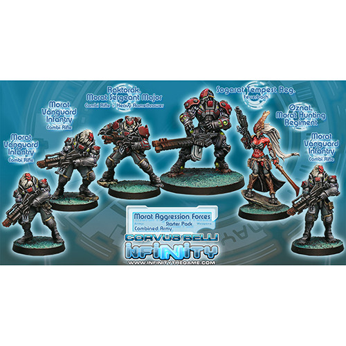 Infinity: Combined Army - Morat Aggression Forces Starter Pack (6)
