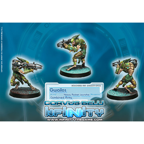 Infinity: Combined Army - Gwailos (Heavy Rocket Launcher)