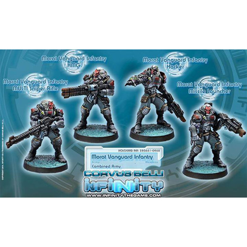 Infinity: Combined Army - Morat Vanguard Infantry (4)