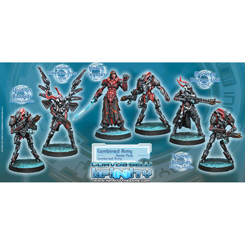 Infinity: Combined Army - Starter Pack (3rd Edition) (6)