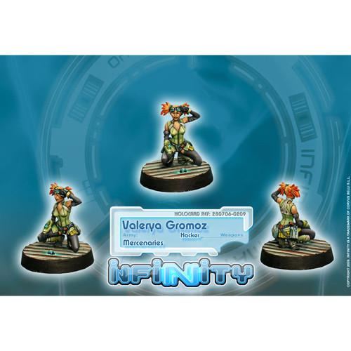 Infinity: Mercenaries - Valerya Gromoz (Hacker)