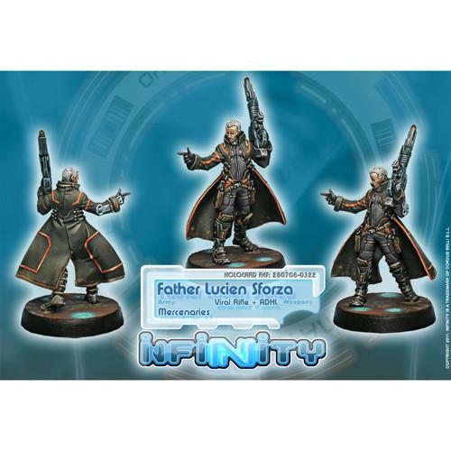 Infinity: Mercenaries - Father Lucien Sforza (Viral Rfl + ADHL)