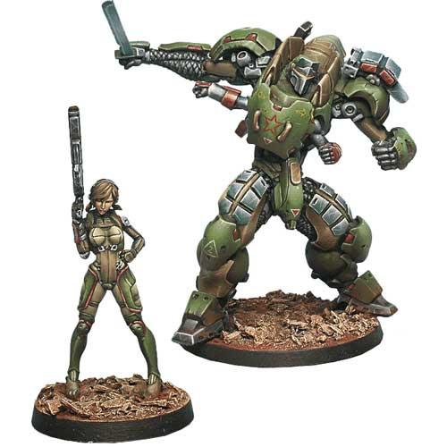 Infinity: Mercenaries - Anaconda TAG Squad