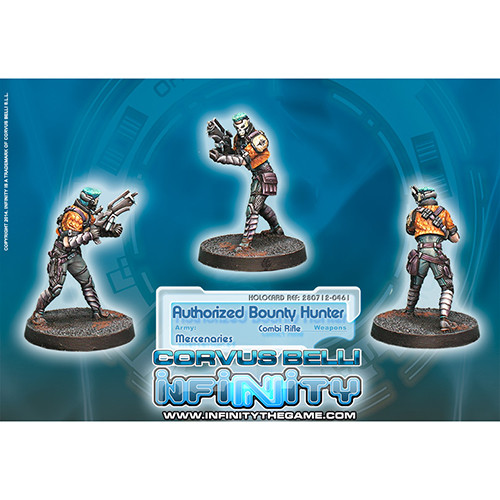 Infinity: Mercenaries - Authorized Bounty Hunter (Combi Rifle)
