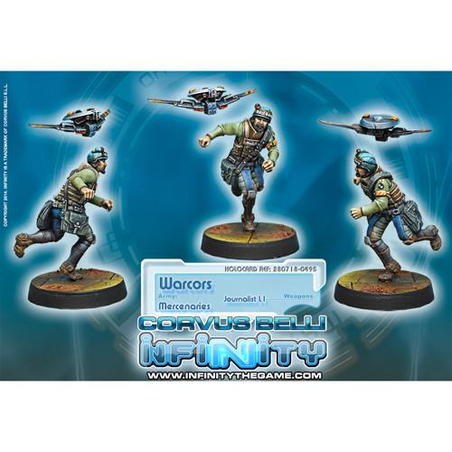 Infinity: Mercenaries - Warcors (1)