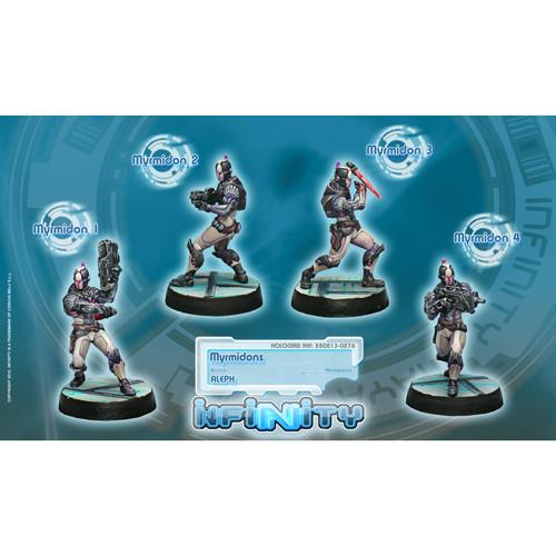 Infinity: ALEPH - Myrmidons Unit Box (4)