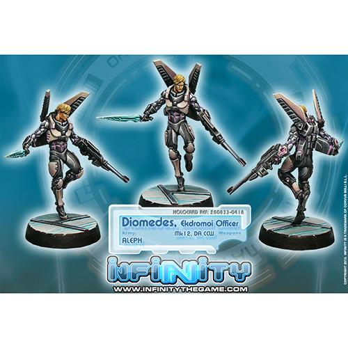 Infinity: ALEPH - Diomedes, Ekdromoi Officer (Mk 12, DA CCW)