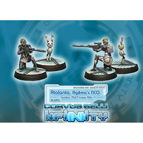 Infinity: ALEPH - Atalanta (Multi Sniper Rfl, Spotbot)