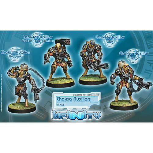 Infinity: Tohaa - Chaksa Auxiliars Unit Box (4)