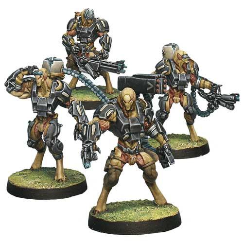 Infinity: Tohaa - Chaksa Auxiliars Unit Box