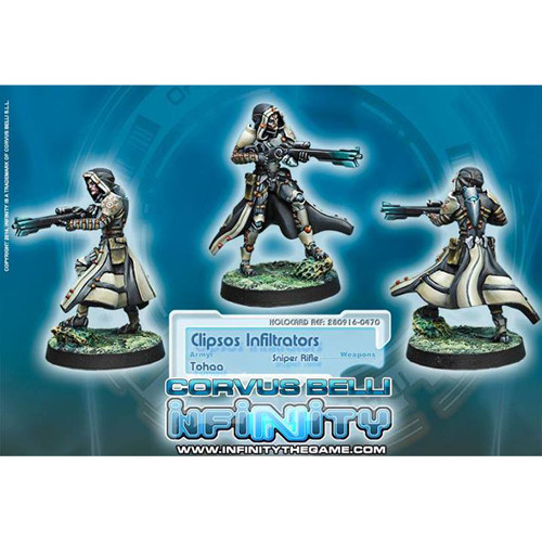 Infinity: Tohaa - Clipsos Infiltrators (1)