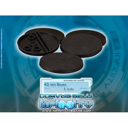 Infinity: Accessories - 40mm Round Bases (5)