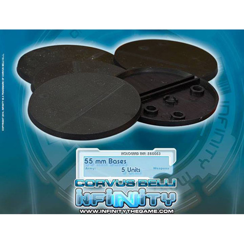 Infinity: Accessories - 55mm Round Bases (5)