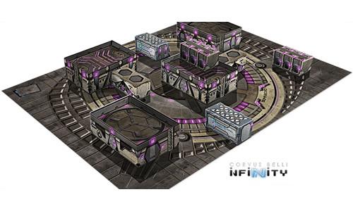 Infinity: Dawn-02 Aplekton Scenery Pack   Table Top