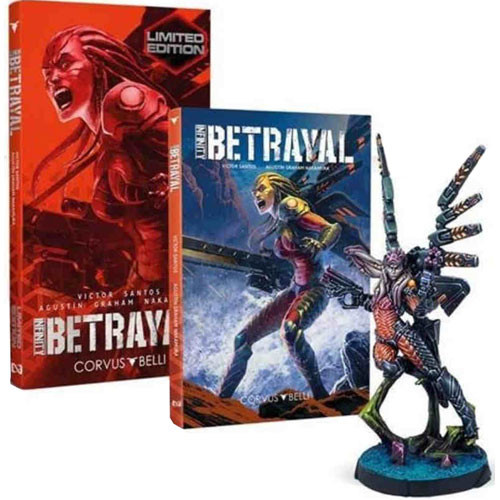 Infinity Graphic Novel: Betrayal (Limited Edition)