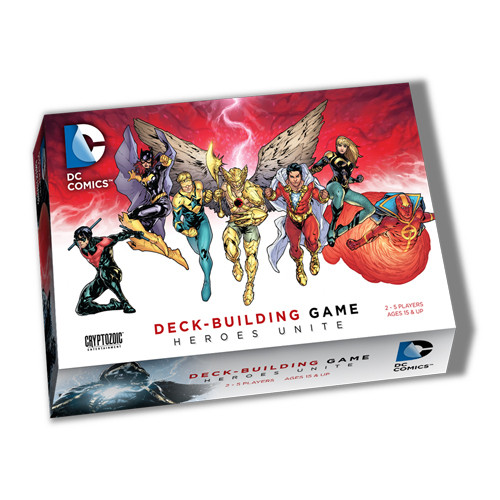 DC Comics Deck Building Game - Heroes Unite