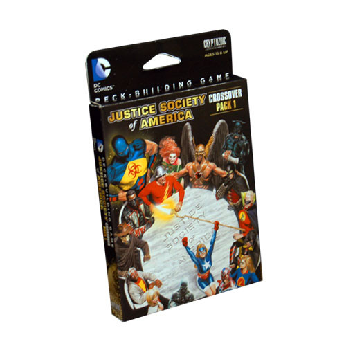 DC Comics Deckbuilding Game: Crossover #1 Justice Society of America
