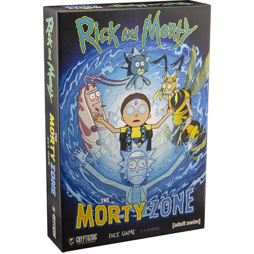 Rick & Morty: The Morty Zone Dice Game