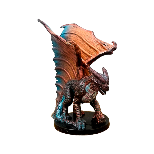 Angelfire #21 Large Copper Dragon (R)