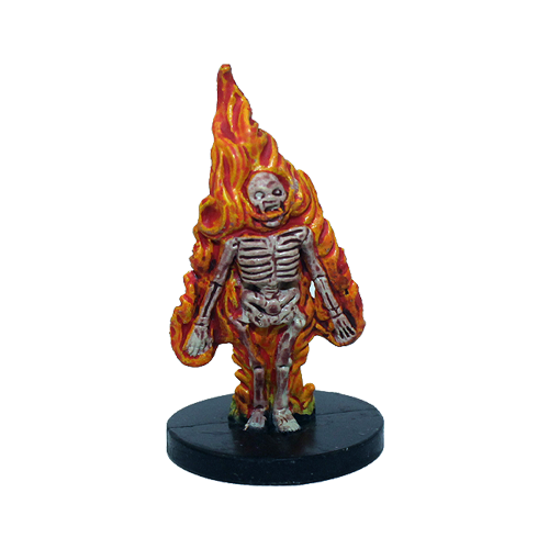 Deathknell #49 Burning Skeleton (U)