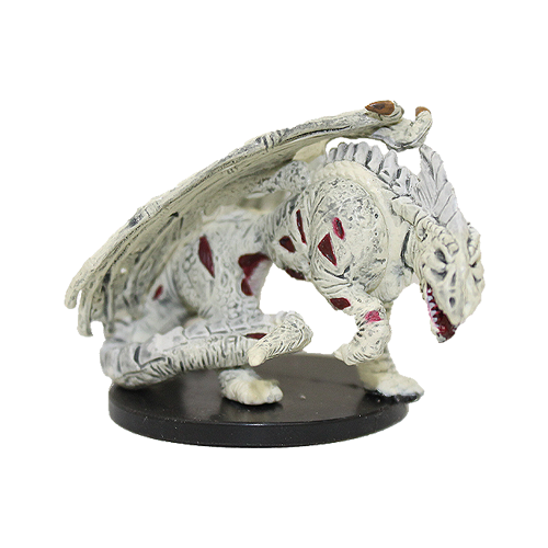 Deathknell #60 Zombie White Dragon (R)