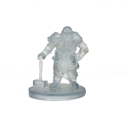 Elemental Evil #007 Shield Dwarf Fighter (Invisible)