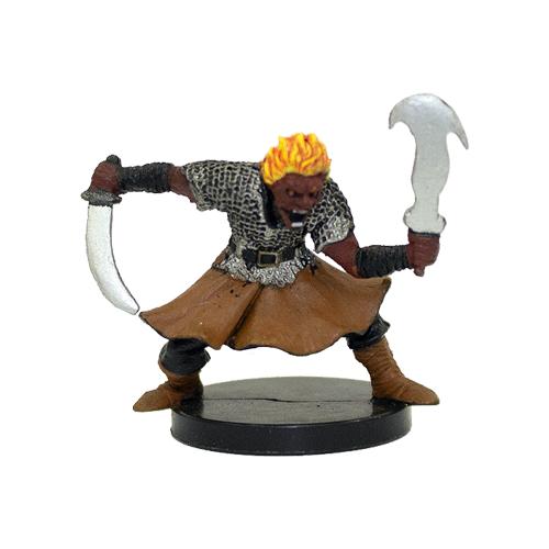 Giants of Legend #15 Fire Genasi Dervish (R)