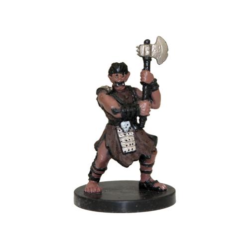 Harbinger #26 Krusk, Half-Orc Barbarian (U)