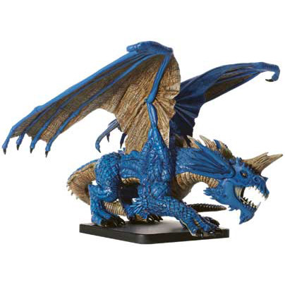 D&D Icons Gargantuan Blue Dragon (Out of Box)