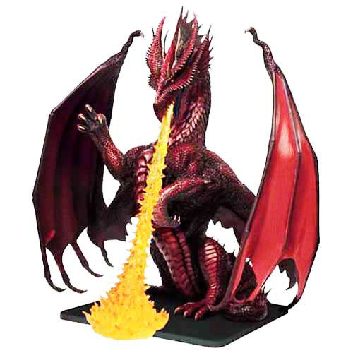 D&D Icons Colossal Red Dragon (Out of Box) | Collectible