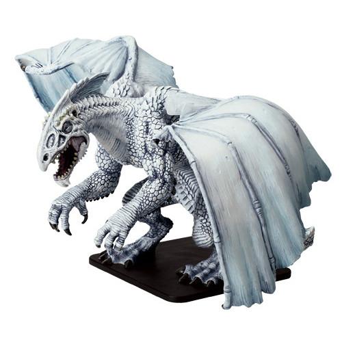 D&D Icons Gargantuan White Dragon (Out of Box)