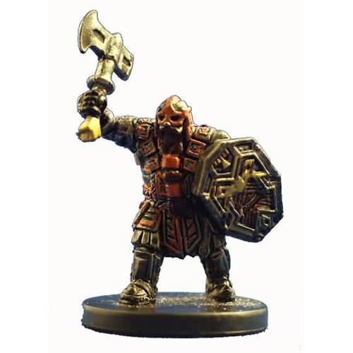 Starter Set Miniatures #1 Dwarf Battlemaster
