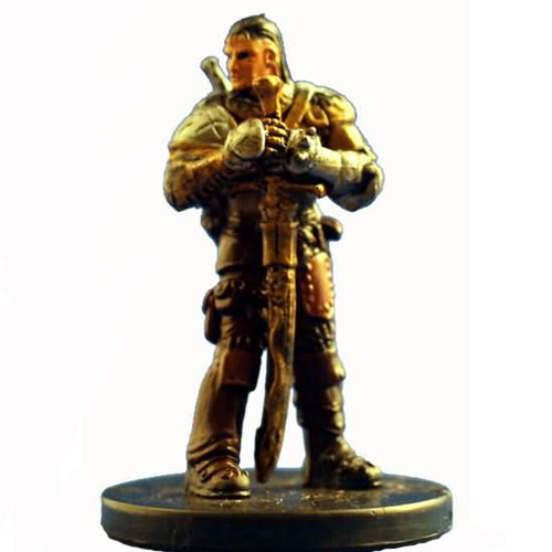 Starter Set Miniatures #3 Human Sellsword