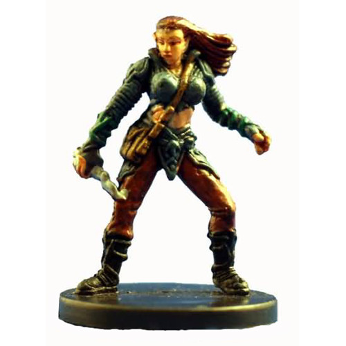 Starter Set Miniatures #4 Elf Warlock