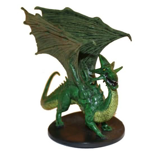Starter Set Miniatures #5 Young Green Dragon