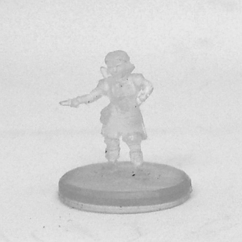Tyranny of Dragons #002 Stout Heart Halfling Female Bard (Invisible)