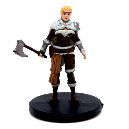 Tyranny of Dragons #13 Human Female Barbarian (C)