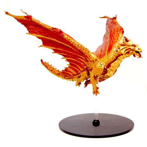 Tyranny of Dragons #45 Brass Dragon (Out of Box) (Fixed)