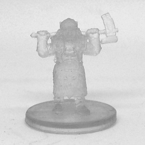 Tyranny of Dragons #047 Gold Dwarf Female Cleric (Invisible)