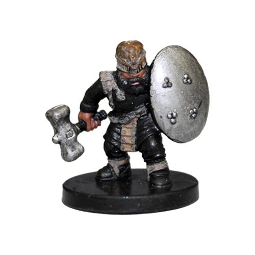 Underdark #05 Gold Dwarf Soldier (C)