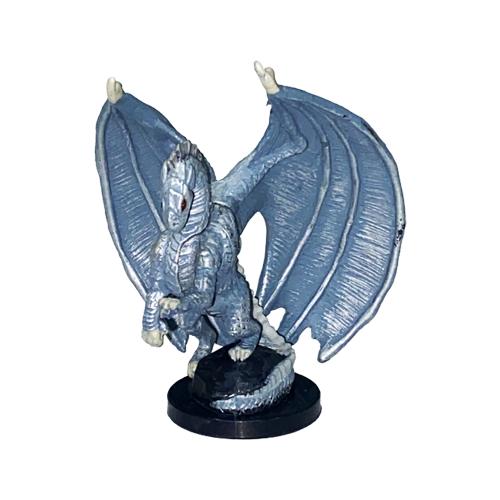 Underdark #10 Medium Silver Dragon (R)
